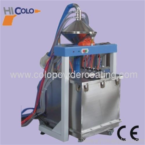 automatic electrostatic powder coating system