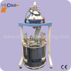 Automatic powder coating cycling and recovery system