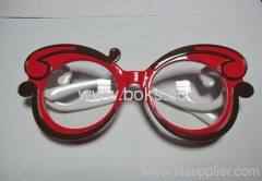 2013 red frame plastic party glasses