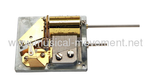 28 NOTE KUKU CLOCK MUSIC BOX MECHANISM