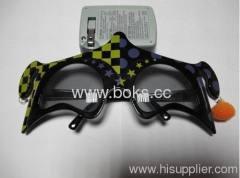 2013 black durable cheap plastic party glasses