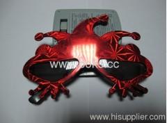 2013 red flower shape plastic party glasses