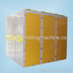 Square Plansifter in wheat milling for sieving and grading flour with different mesh sizes in wheat and maize milling