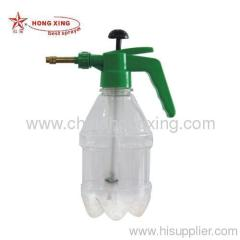 the transparent pressure sprayer