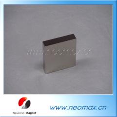 Block Neodymium permanent magnet