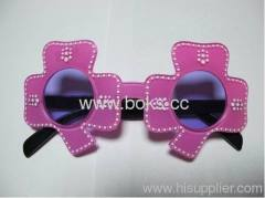 2013 pink cheap plastic party glasses