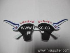 2013 black hot selling plastic party glasses