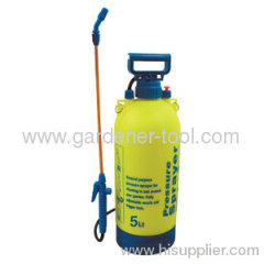 5.0L garden manual knapsack pressure sprayer