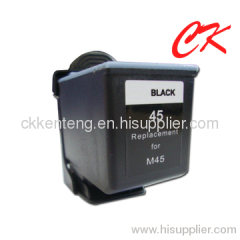 M45 black INK cartridge compatible for SamsungSF-370/371P/371TP
