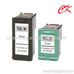 74 ink /74xl / 75xl INK cartridge use for HP Deskjet D4260/ photosmart C4280/C4385/C5280/D5360