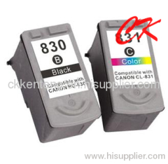 PG830/ CL831 INK cartridge use for CANON PIXMA IP1180/1880/1980/2580/2680,MP145/198/228/476/308/318