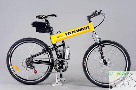 Electric Folding Mountain Bike from China manufacturer - xy-ebike ...