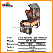 Iron console,NA-QF058 Basketball game machine