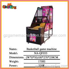 Iron console,NA-QF055 Basketball game machine