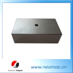 rectangular neo magnets with holes for sale