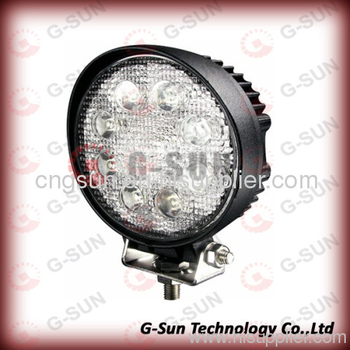 Waterproof 24w round led working light