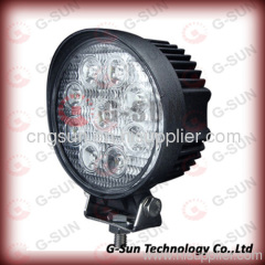 waterproof and shockproof 27w high power LED working light