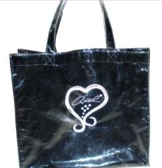 reusable printed shopping bag