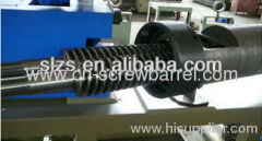Bimetallic Twin Conical Screw Barrel