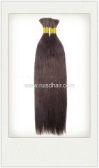 100% VIRGIN Indian HUMAN HAIR BULK 100g/pcs