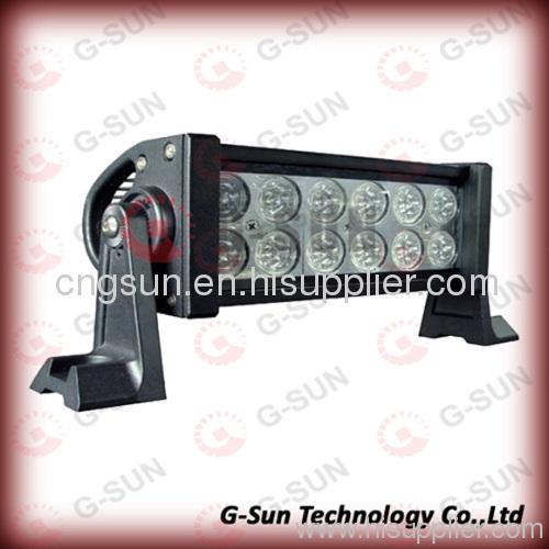 Wide voltage inputting 36w led light bar