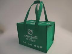 Zipper non woven shopping bag