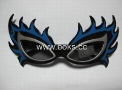 2013 new flashing plastic sunglasses