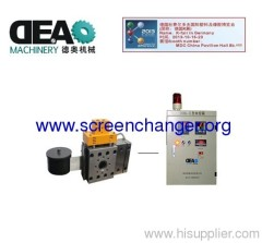 auto screen changer-polymer filtration system