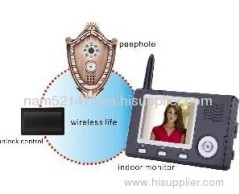 Wireless video Intercom system1v1(DFPH3501)