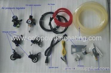equipamentos para pintura eletrostatica a po