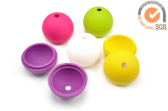 "FDA 2.5"" Silicone ice ball maker in fashion"