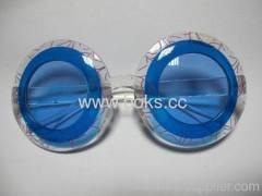 2013 blue color plastic party glasses