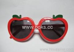 2013 red frame plastic sunglasses