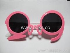 2013 pink frame plastic sunglasses