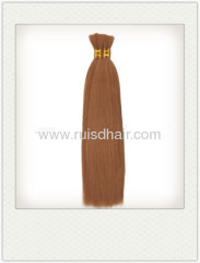 100% VIRGIN HUMAN HAIR BULK BRAZILIAN BULK HAIR