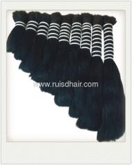 100% VIRGIN HUMAN HAIR BULK CHINESE BULK HAIR