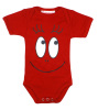 baby boy bodysuite with front print
