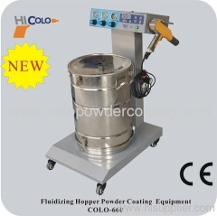 electrostatic powder coating applicator