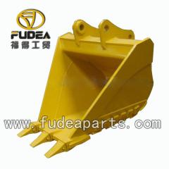 trapezoidal V ditch bucket