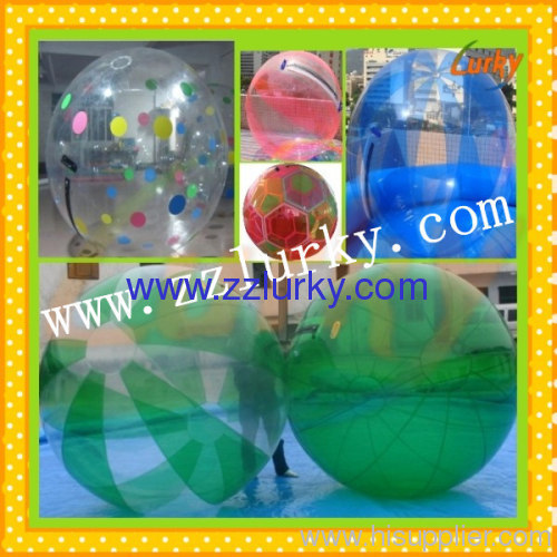 water walking balls/inflatable aqua balls
