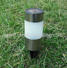stainless steel solar stake lights