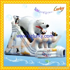 inflatable slide/inflatable water slide
