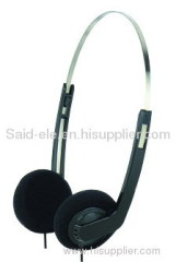 Disposable headset low cost headset airline headset