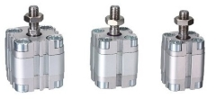 compact pneumatic cylinder thin cylinder round barrel cylinder