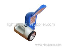 Portable LED Rechargeable Flashlight