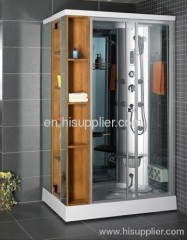 shower cabin with square style