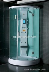 Front 6mm clear tempered glass luxury shower room