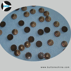 Sunflower hot fix studs