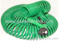 100FT EVA Coil Hose For Garden