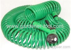 100FT EVA Coil Hose For Garden